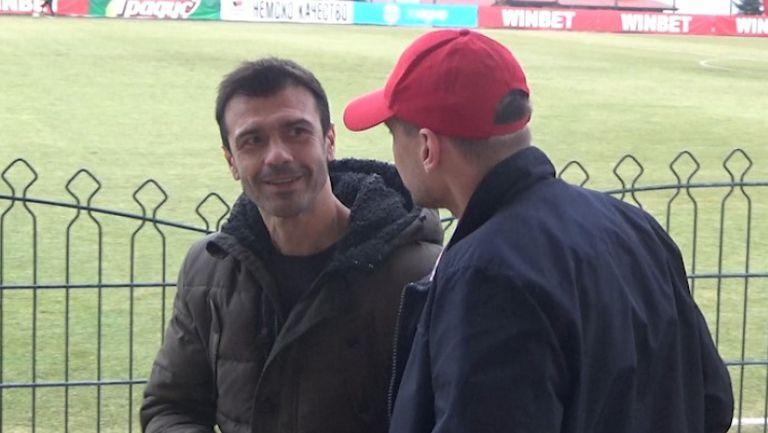 Росен Кирилов гледа бившия си тим срещу Царско Село