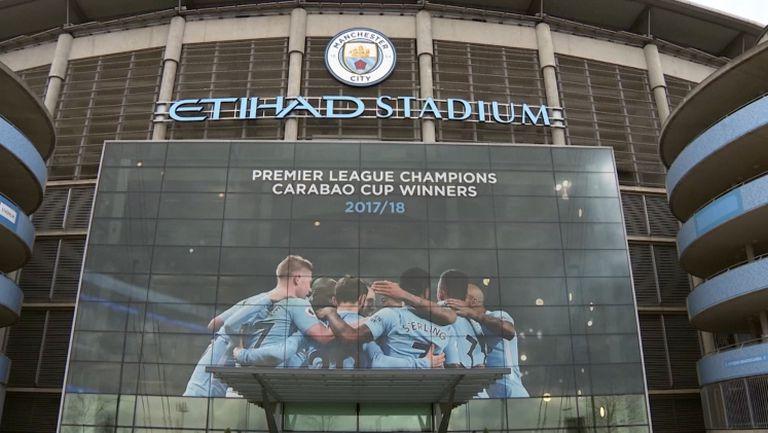 Изхвърлиха Манчестър Сити от Шампионската лига