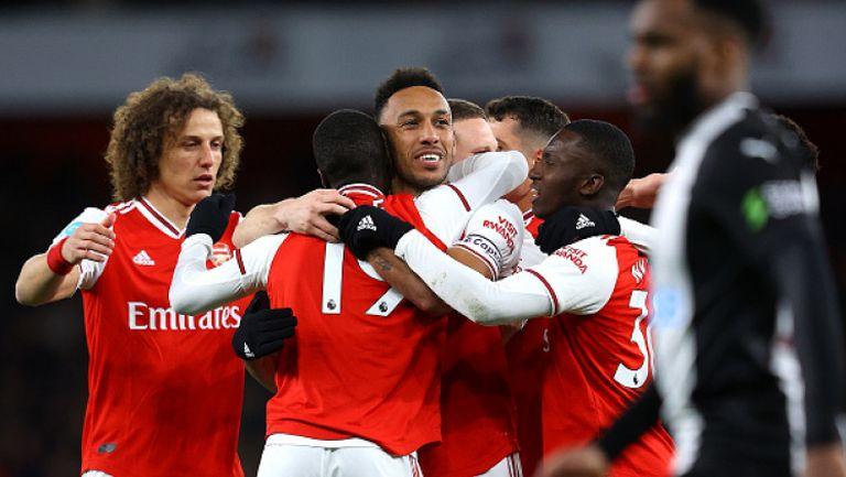 Арсенал - Нюкасъл 4:0