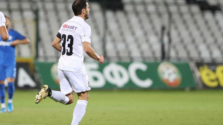 Галин Иванов вкара от дузпа за Славия срещу Арда
