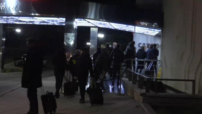 Играчите на Интер се настаниха в хотела си в Разград