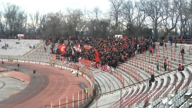 """Сектор """"Г"""" срещу Ботев"""