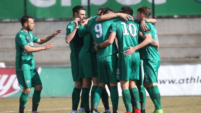 Георги Амзин вкара още в 3-ата минута за Витоша срещу Берое