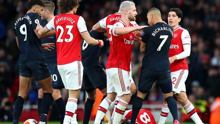 Арсенал - Евертън 3:2
