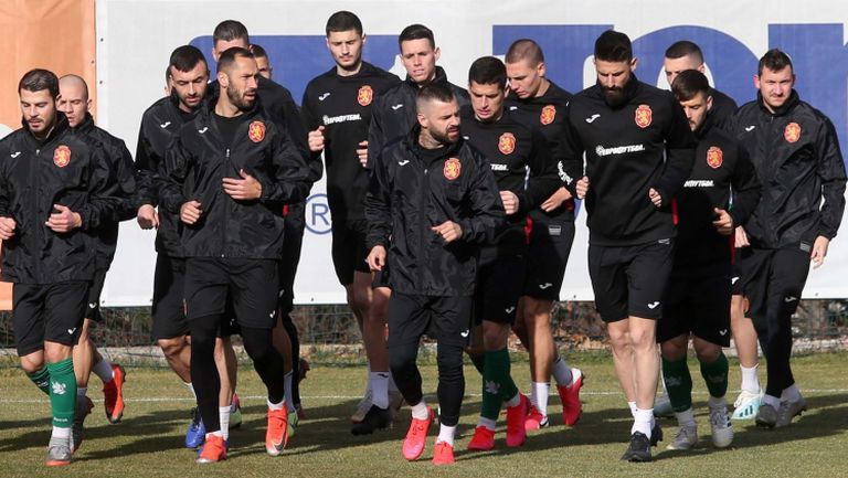 """""""Лъвовете"""" с последна тренировка преди контролата с Беларус"""
