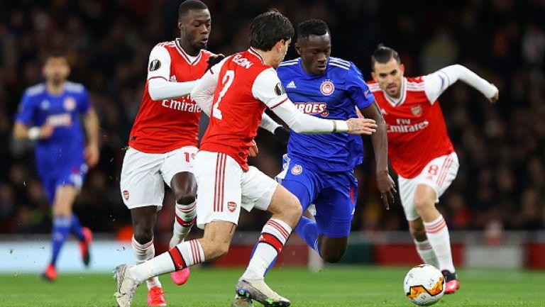 Олимпиакос изхвърли объркан Арсенал след успех в Лондон