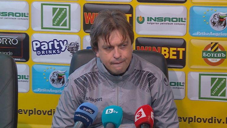 Треньор на Черно море: Измъкнахме точка