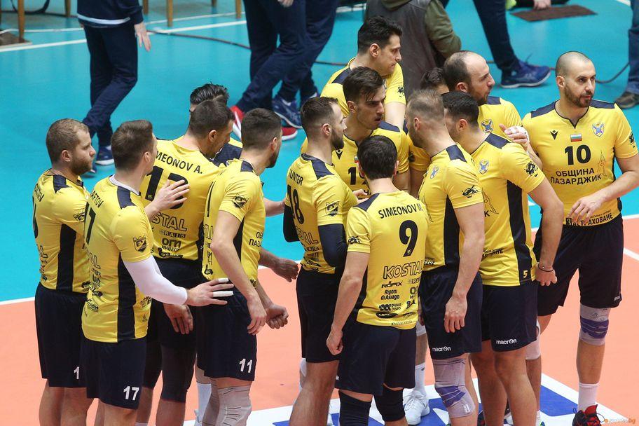 Финал за Купата на България: Нефтохимик - Хебър 0:3