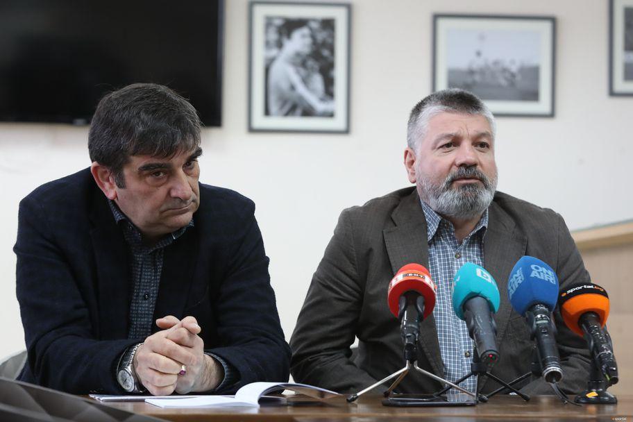 Среща с председателя на Дисциплинарната комисия доц. д-р Юрий Кучев и секретарят на Спортно-техническата комисия Неделчо Михайлов
