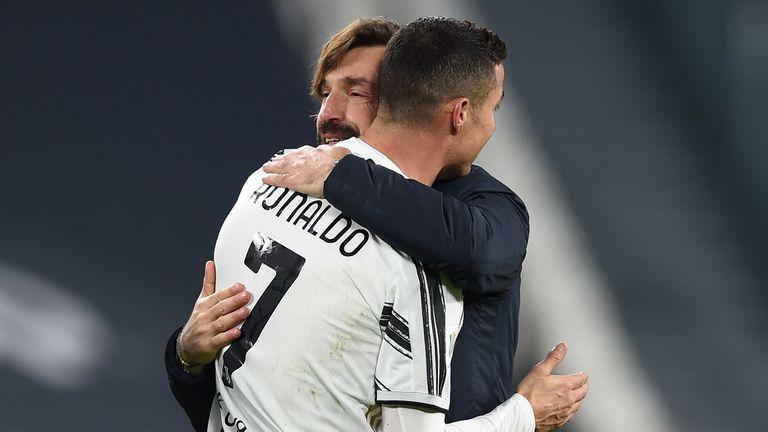 Кристиано към Пирло: Благодаря, Маестро, за мен беше чест да работя с теб