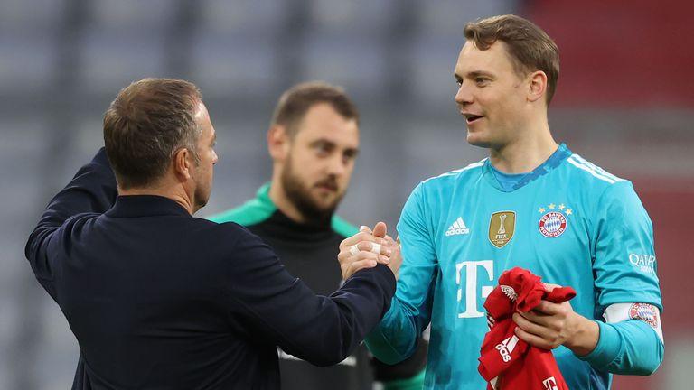 Нойер не бърза да спира с националния тим на Германия, цели се в рекорд на Матеус