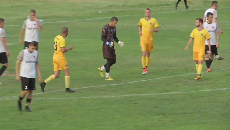 Вратарят на Марица Илия Николов вкара от дузпа и направи резултата 3:1