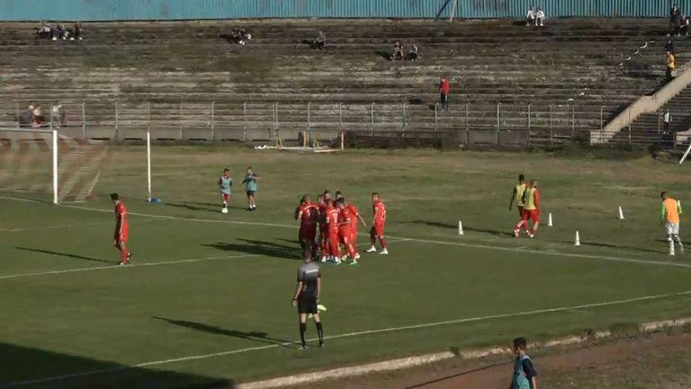 Евгени Тунтев вкара втори гол във вратата на Вихрен