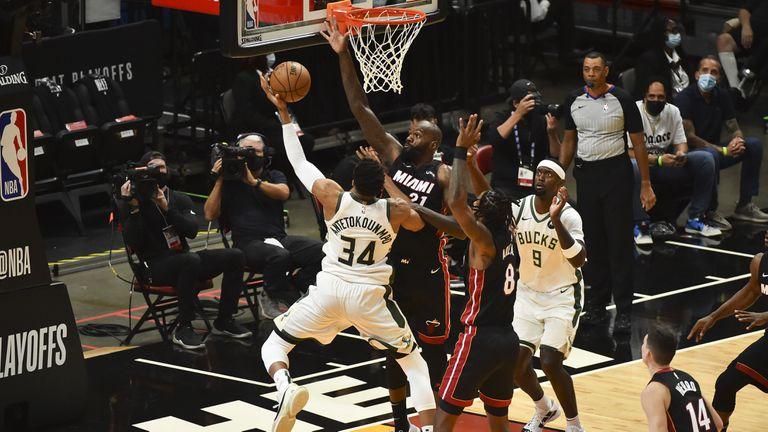 """Янис и Милуоки """"изметоха"""" Маями от плейофите на НБА"""