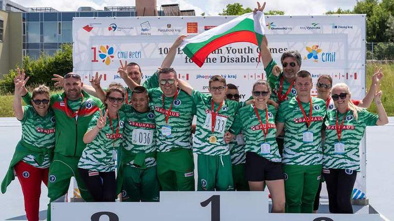 6 златни, 5 сребърни и 3 бронзови медала за родните младежи с физически и ментални уреждания на ЕП в Бърно