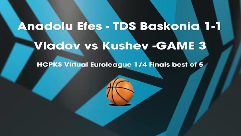 Виртуална Евролига: Виктор Владов срещу Петър Кушев (Четвъртфинал, мач №3)