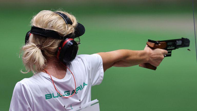 Мария Гроздева на 25 метра пистолет в Токио 2020