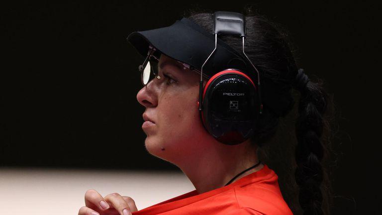 Антоанета Костадинова с трети резултат в квалификациите на 25 метра пистолет след прецизната стрелба