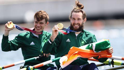 Ирландци спечелиха олимпийското злато в двойката скул - лека категория