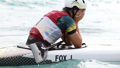 Джесика Фокс спечели кану слалома в бързи води