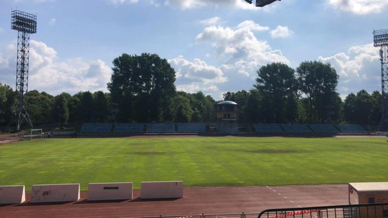 "Стадион ""Даугава"" е готов за мача"