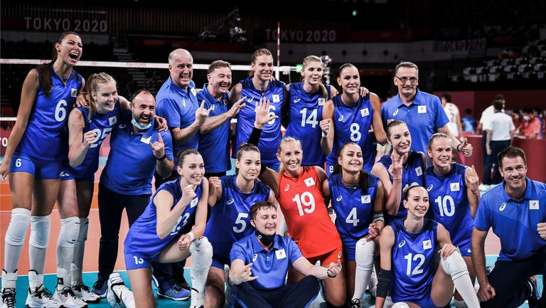 Руските волейболистки нанесоха трета поредна загуба на Китай в Токио🏐
