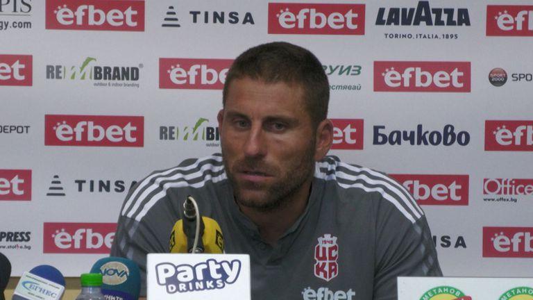 Мирослав Миндев: Радвам се, че съм тук, не ни отписвайте срещу Лудогорец