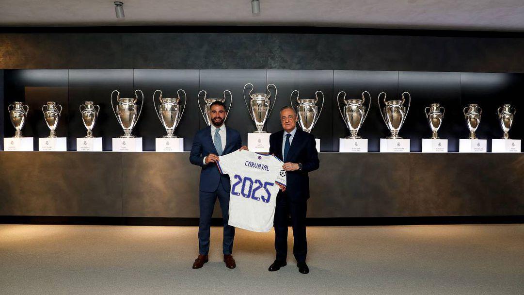 Дани Карвахал също обвърза бъдещето си с Реал Мадрид