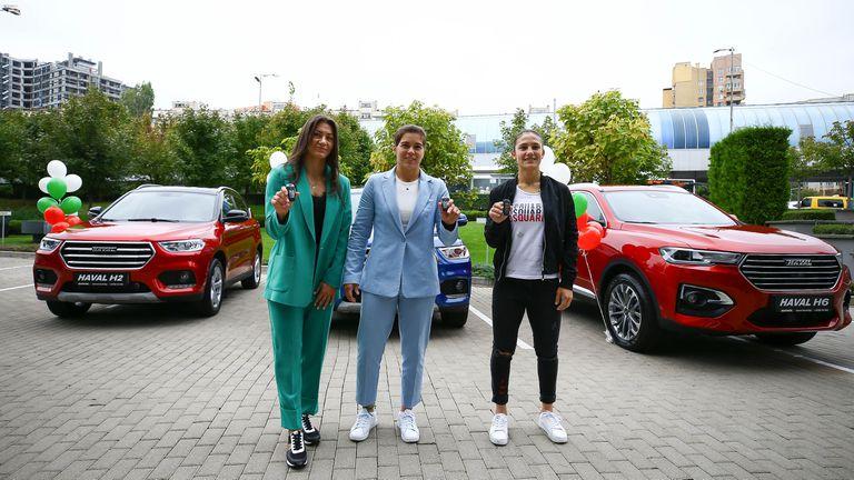 БФ Борба награди олимпийските си медалистки