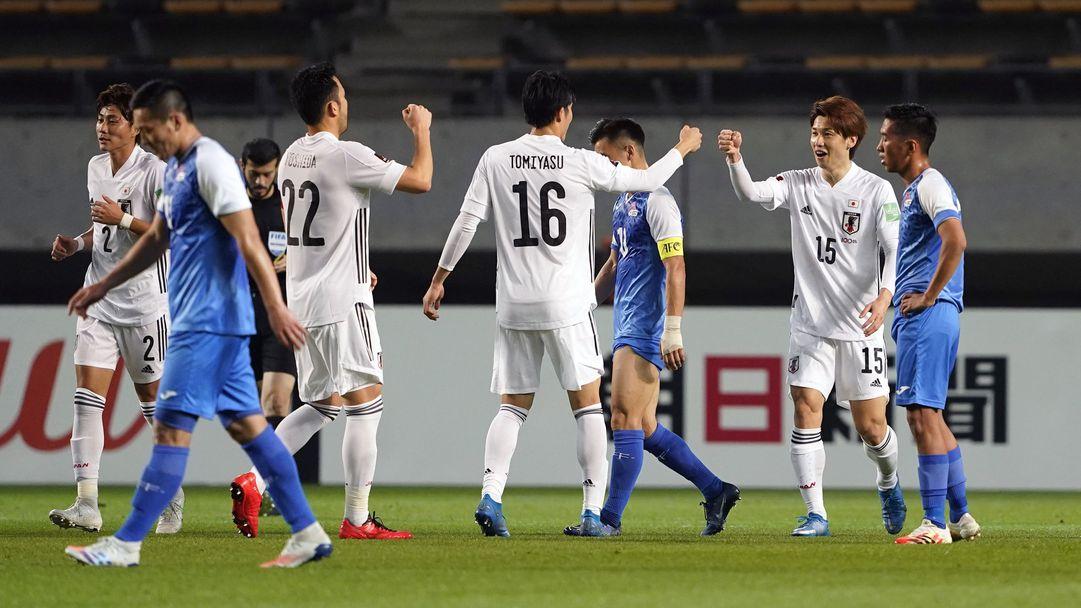 Мач за историята: Япония вкара 14 гола в световна квалификация