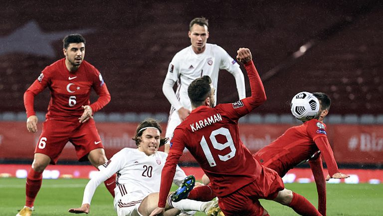 Турция - Латвия 3:3