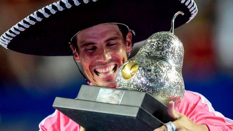 Рафаел Надал спечели трета титла в Акапулко (видео + снимки)