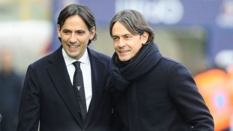 Треньорите братя Индзаги влязоха в историята на италианския футбол