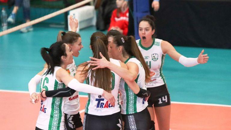 Берое прегази Славия за 10-а победа в НВЛ-жени