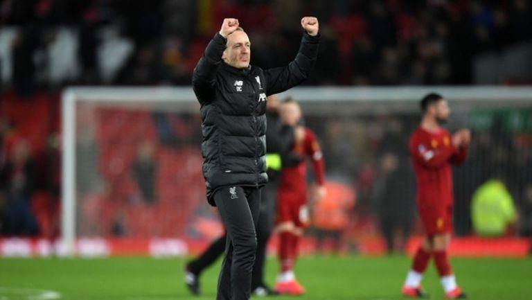 Нийл Кричли, който изведе Ливърпул до 1/8-финала за ФА Къп, стана мениджър на Блекпул