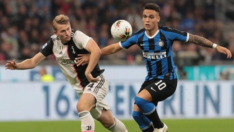 Решено: Ювентус срещу Интер на 9 март