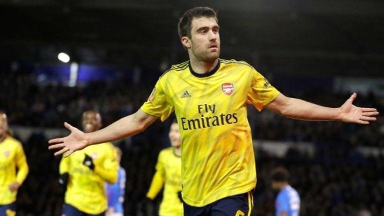 Сократис: Не знам дали ще остана в Арсенал до края на договора си