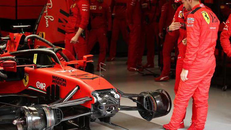 Ферари отложи тестовете на новите гуми заради коронавирус