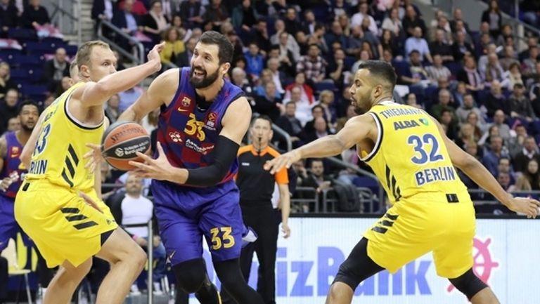 АЛБА Берлин отправи предизвикателство, но Барселона се справи