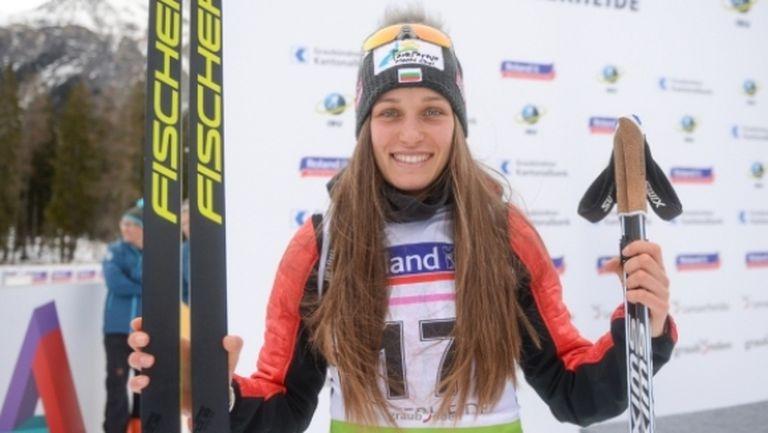 Милена Тодорова с нов силен резултат в спринта в Нове Место