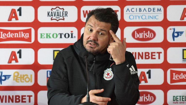Крушчич: ЦСКА е там, където иска да бъде! Али Соу има психологически проблем