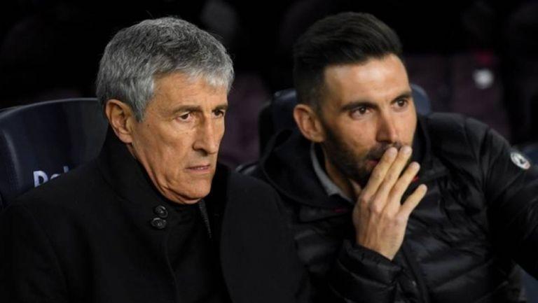 Кике Сетиен се извини за поведението на асистента си по време на дербито с Реал