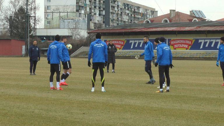 Левски стартира подготовка за мача с Ботев (Враца)