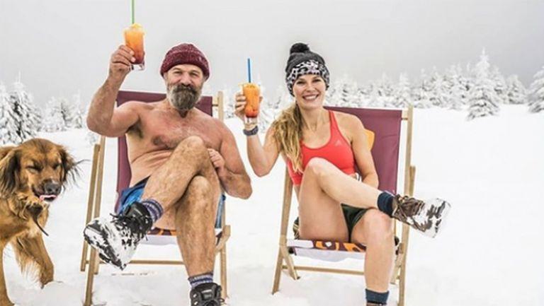 Студ, лед и голи тела: Вожняцки приe предизвикателството на феномена Вим Хоф