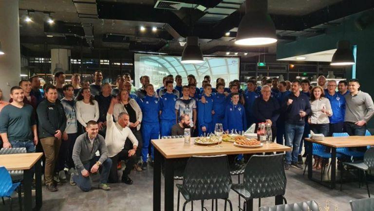 Четири отбора на Левски се срещнаха с партньорите на клуба