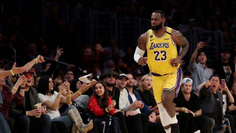 НБА предупреди отборите за мачове без публика заради коронавируса, ЛеБрон отказва да играе