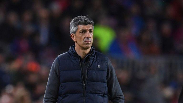 Треньорът на Реал Сосиедад не обвини съдийството за загубата