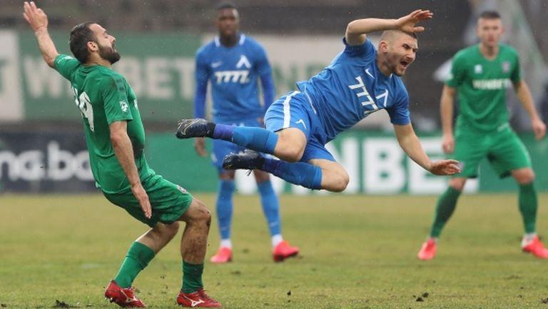 Мартин Петков: Състоянието на терена ни попречи да се представим по-добре