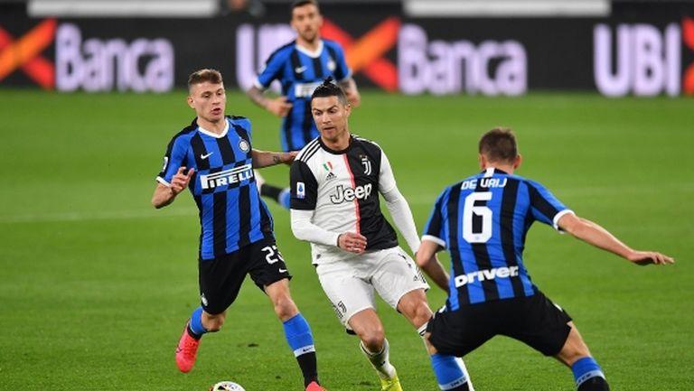 Ювентус се върна на върха в Серия А след успех в Дерби д'Италия