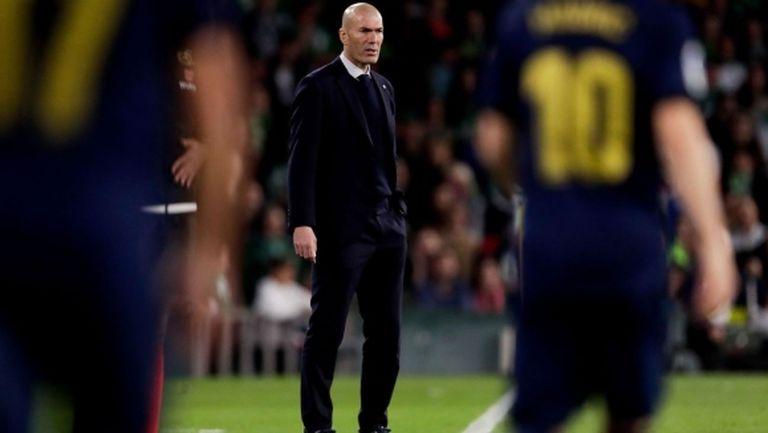 Зинедин Зидан: Най-лошият мач на Реал Мадрид досега през сезона